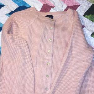 Jcrew pink cashmere sweater